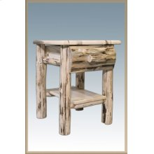 Montana Rustic Nightstand with Drawer