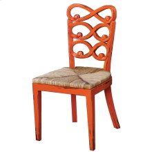 Lewis Dining Chair Rush Seat
