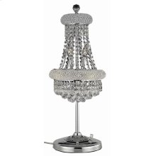 1800 Primo Collection Table Lamp Chrome Finish