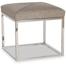 LEOPOLD - 13-11 POLISHED SS (Ottomans and Benches)