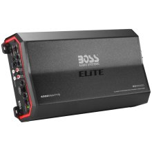 "Elite 4000W Monoblock, Class D Amplifier Dim:13.9""L 7.01""W 2.4""H"