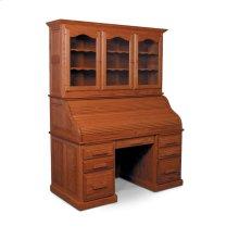 "Classic Rolltop Desk, Hutch Top for Rolltop Desk, 57 1/2""w"