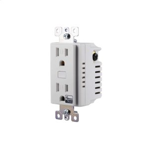 GE In-Wall Smart Outlet (for Works with Ring Alarm Security System) - White Product Image
