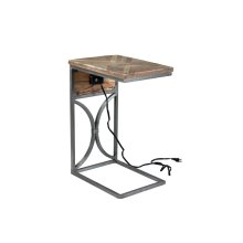 Bengal Manor USB Power C Side Table