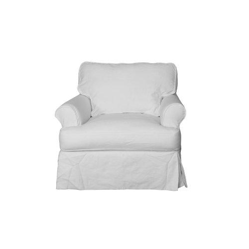 Sunset Trading Horizon Slipcovered Chair - Color: 423080