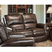 HAWTHORNE - BROWN WIPE Power Loveseat Product Image