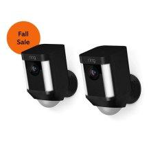 2-Pack Spotlight Cam Battery - Black