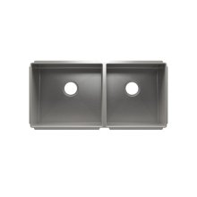 """J7® 003992 - undermount stainless steel Kitchen sink , 18"""" × 16"""" × 10""""  15"""" × 16"""" × 8"""""""