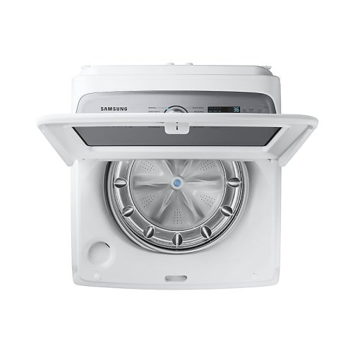 5.0 cu. ft. Top Load Washer with Super Speed in White