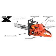 CS620PW Rear Handle Chainsaw ECHO X Series