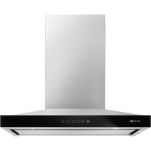 """Pyramid Style Canopy Wall Hood, 36"""", Stainless Steel"""