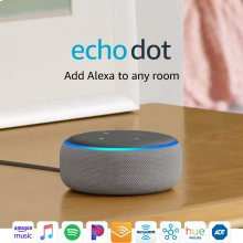 Echo Dot (3rd Gen) - Smart speaker with Alexa - Heather Gray
