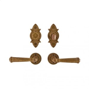 """Round Briggs Entry Set - 2 1/2"""" Silicon Bronze Brushed Product Image"""
