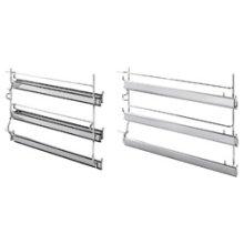 3 level telescopic shelf set