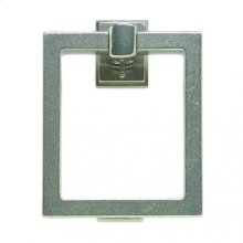 "8"" Square Door Knocker - DK8 Silicon Bronze Brushed"