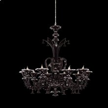 10-LIGHT CHANDELIER - Chrome
