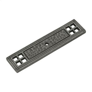 Kingston Backplate - Old English Pewter Product Image