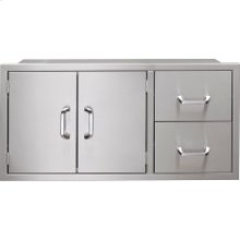 56-In. Pantry Door/Drawer Combo