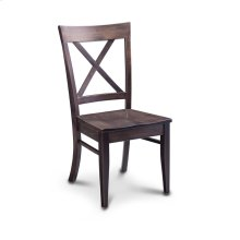 Maxwell Side Chair, Wood Seat