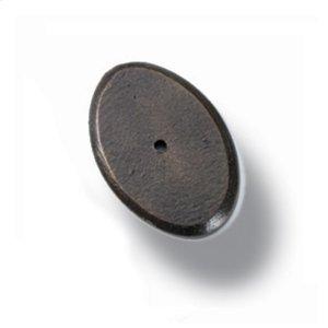 Heritage  Oval Knob Base Product Image