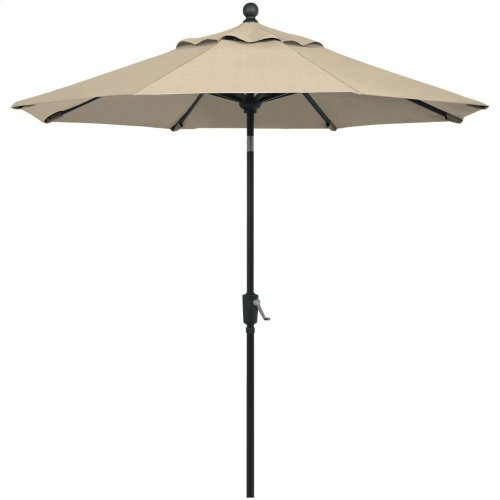 Value Market Umbrella 11' Market Umbrella w/ Powdercoat Aluminum Frame and Autotilt