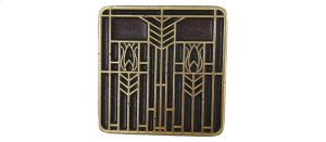 Prairie Tulips - Antique Brass Product Image