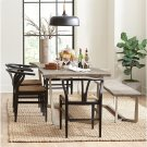 Mix-n-match Chairs - Wishbone Side Chair - Glossy Black Finish Product Image