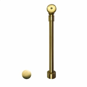 DR290 Push to Seal Bath Waste & Overflow in Brushed Gold Product Image