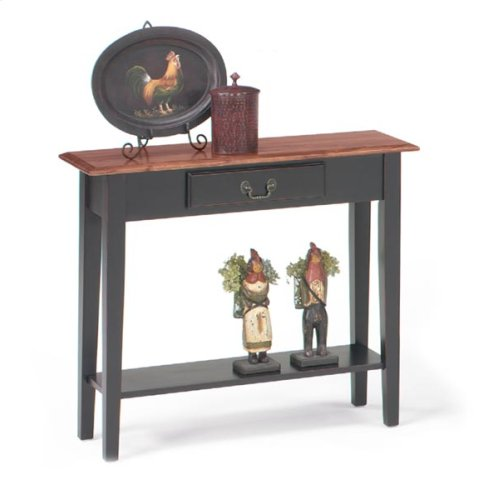 Red Hot Buy- Be Happy! Table Console