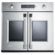 "Monogram 30"" Professional French-Door Electronic Convection Single Wall Oven"