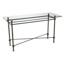Base Only Ranch Console Sofa Table