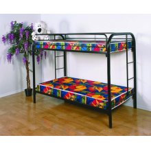 Twin/ Twin Metal Bunkbed