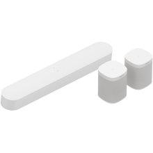 White- Surround Set with Beam and One SL