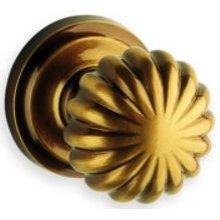 Interior Traditional Passage Knob Latchset- Solid Brass
