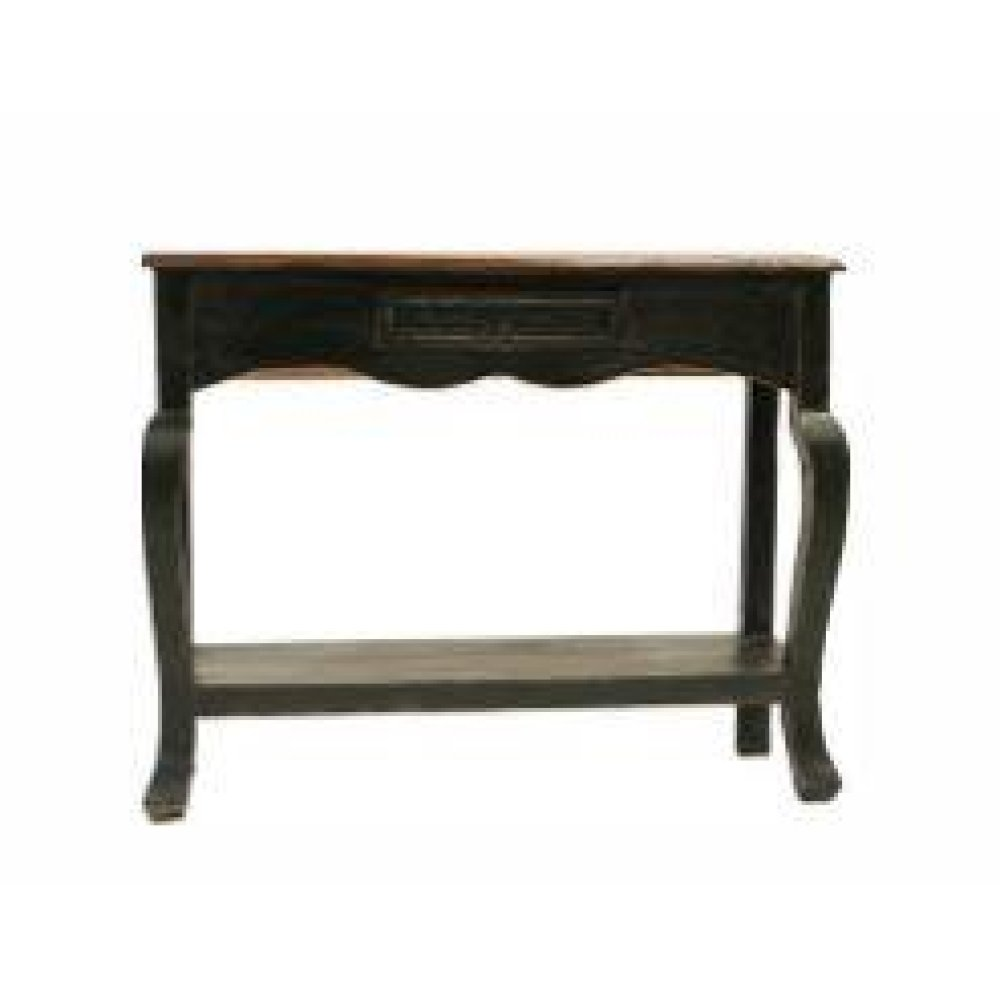 Black/Walnut Ale Console