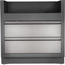 OASIS Under Grill Cabinet for Built-in LEX 485 , Grey