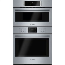 "500 Series, 30"" Combo, Upper: Microwave, Lower: EU Conv, Knob Control"