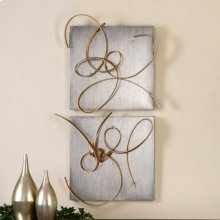 Harmony Metal Wall Decor, S/2