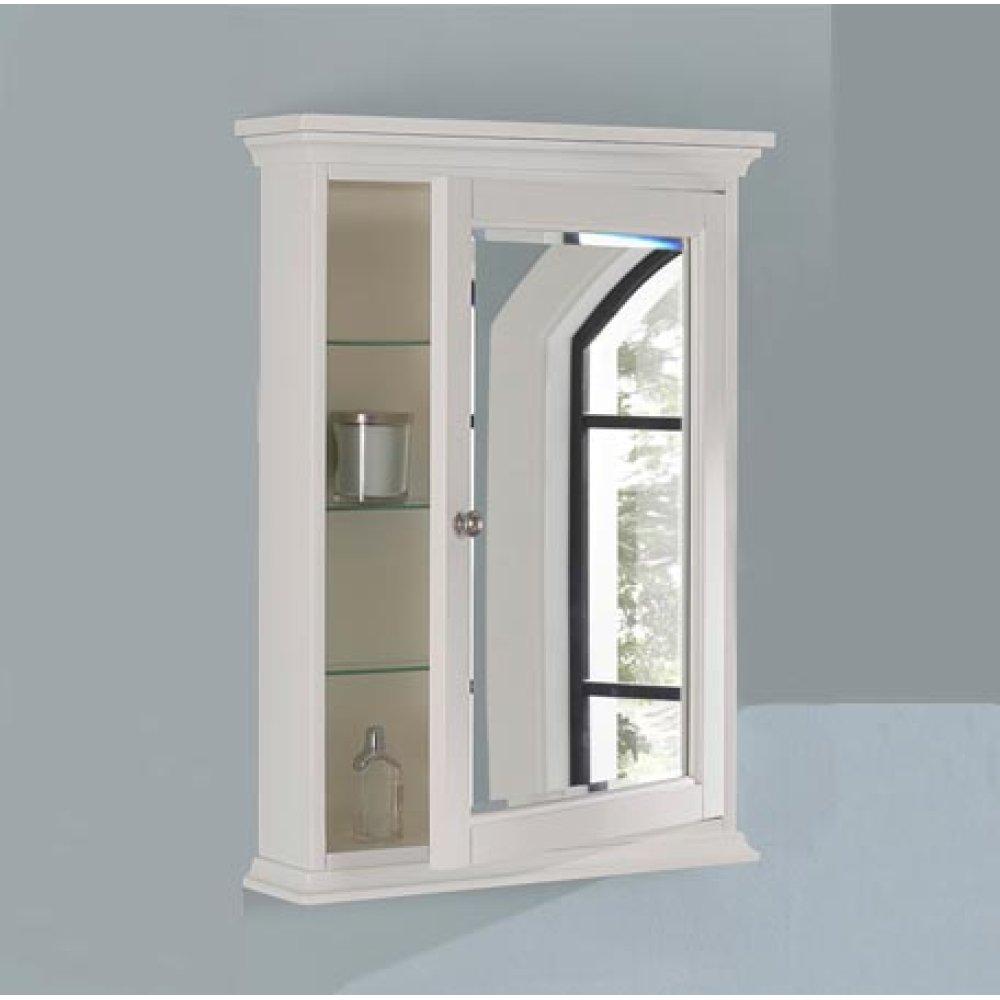 "Framingham 24"" Medicine Cabinet - Polar White"