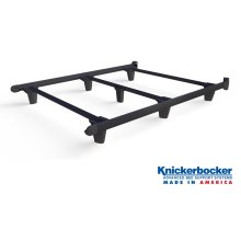 Black Queen EmBrace™ Bed Frame