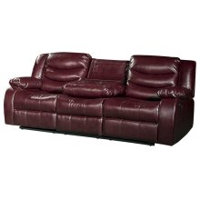 "Gramercy Leather Reclining Sofa - 82""L x 38.5""D x 39""H"