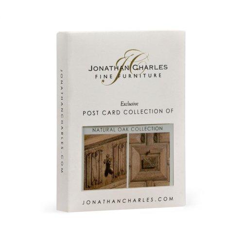 Natural oak collection postcard