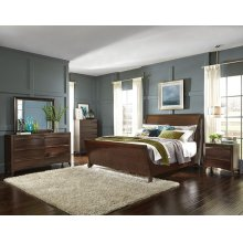 Complete King Sleigh Bed