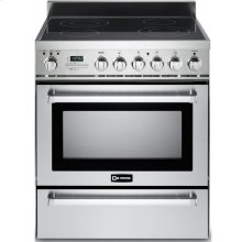 "Stainless Steel 30"" Self-Cleaning Electric Range with Warming Drawer"