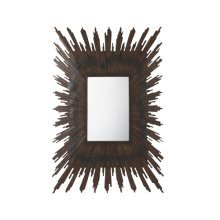 Parquet Sunburst Wall Mirror, Parquet