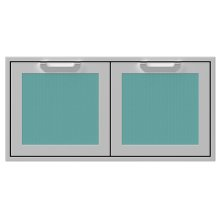 "42"" Hestan Outdoor Double Storage Doors - AGSD Series - Bora-bora"