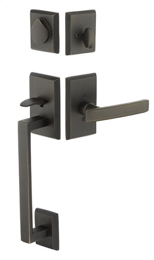 Bronze Rustic Modern Rectangular Sectional Product Image