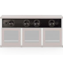 LCR Soundbar for Synergy System, Triple-Width