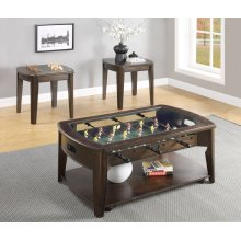 "Diletta Cocktail Table w/Foosball, 45""x28'x20"""