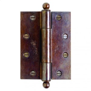 "Butt Hinge - 6"" x 4 1/2"" Silicon Bronze Brushed Product Image"